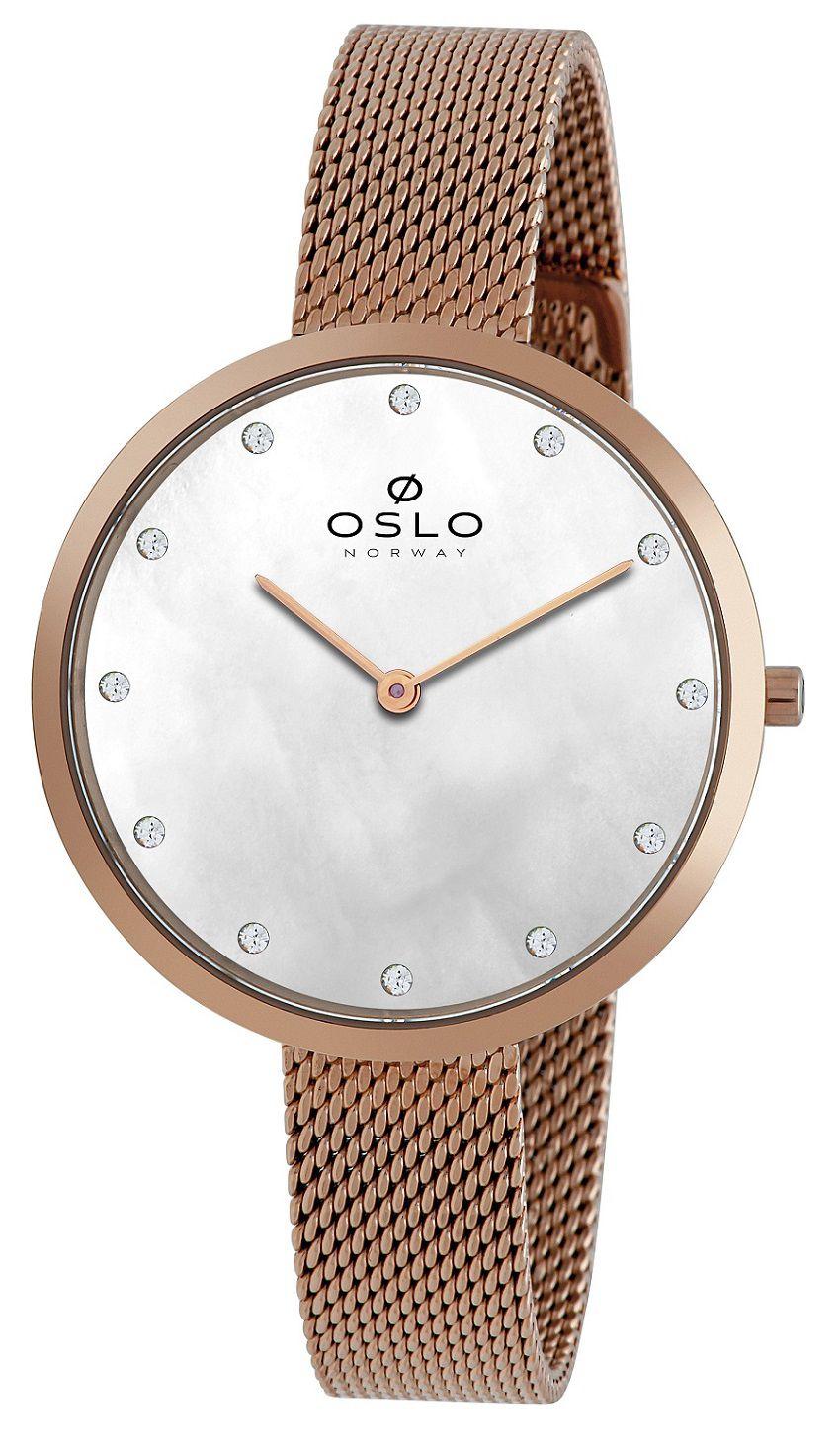 Relógio Oslo Rose e  Madrepérola OFRSSS9T0011