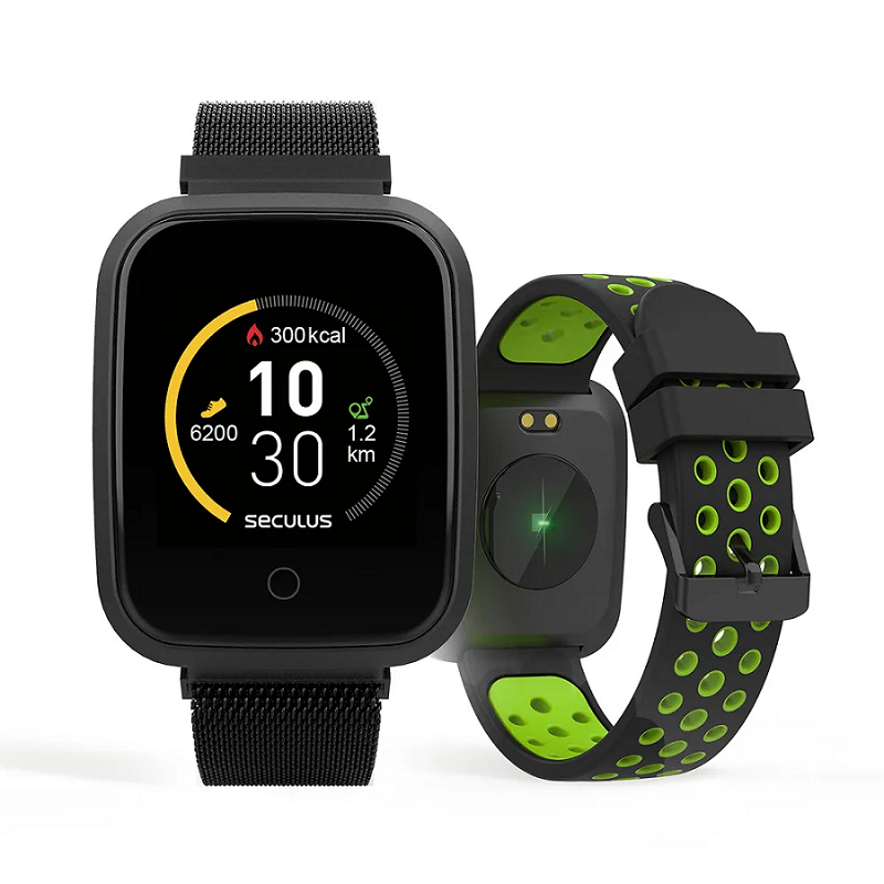 Relógio Seculus Smartwatch Preto 79006MPSVPE2