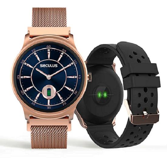 Relógio Seculus Smartwatch Rose 79005LPSVRE1