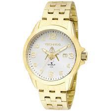 Relógio Technos Dourado Golf 2115KNYM4K