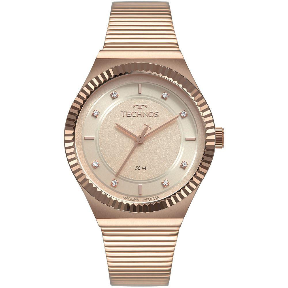 Relógio Technos Style Rose 2035MRV4T