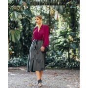 Blusa Transpassada - Fernanda