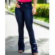 calça jeans flare - Alessandra
