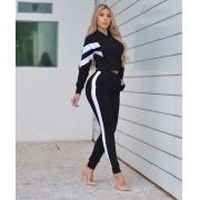 Conjunto Feminino Moletinho Blusa Manga Longa Calça Casaco Inverno - Sarah
