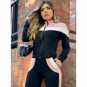 Conjunto jaqueta bomber  - Tamiris