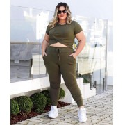 Conjunto Plus Size Tóquio Visco - Bianca
