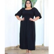 Vestido Longo Plus Size Feminino - Irene