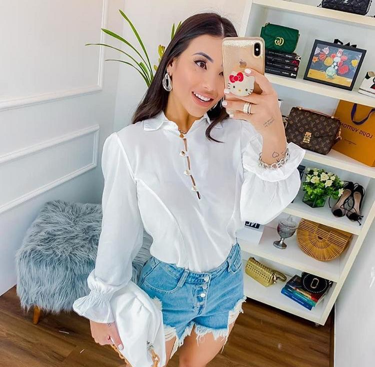 Camisa Branca - Tatiane