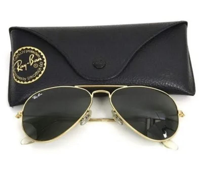 Óculos de Sol Aviador Inspired Ray Ban Clássico UV 400