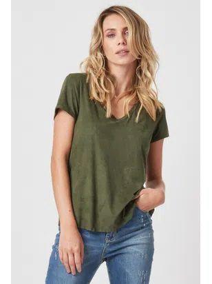 T-shirt Suede - Pamella
