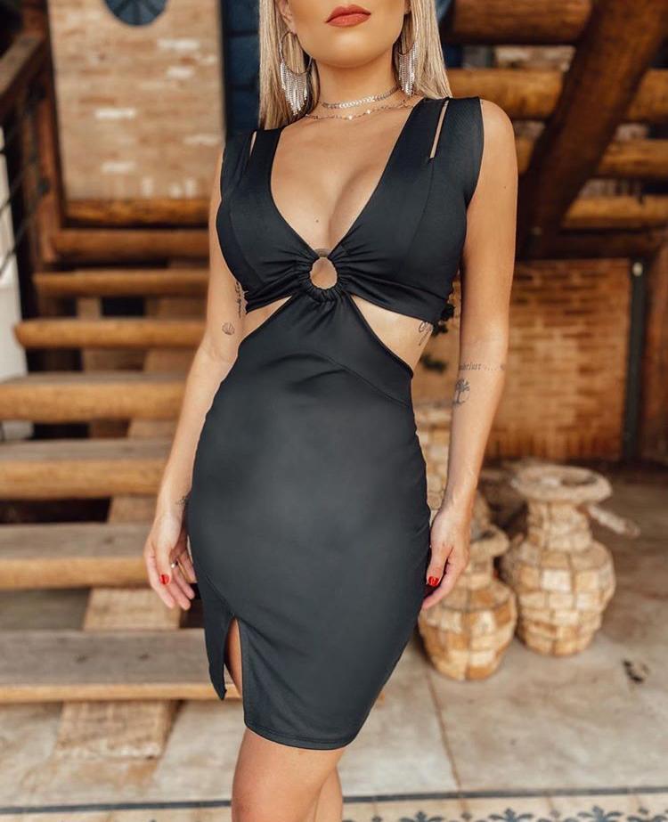 Vestido Curto Tubinho Preto – Tatiana