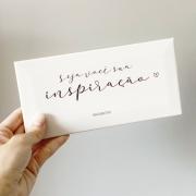 Azulejo Decorativo Branco Seja Você Sua Inspiração