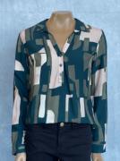 Camisa Feminina Estampada Meia Manga