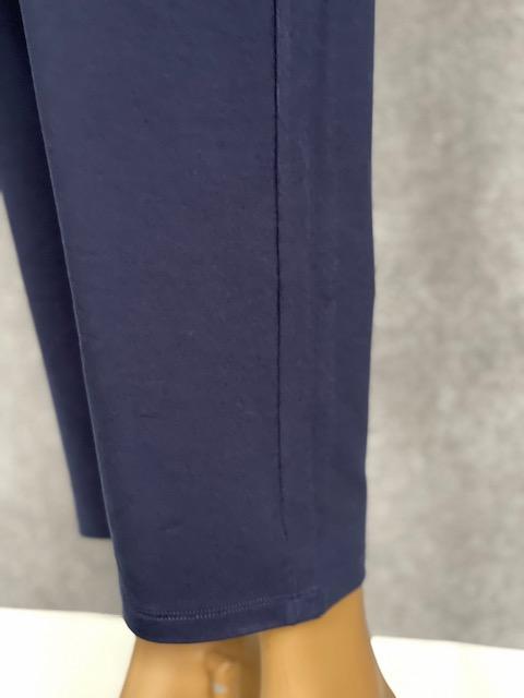 Calça Feminina Moletinho de Viscolycra Azul Marinho