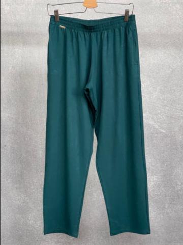 Calça Feminina Moletinho de Viscolycra Verde