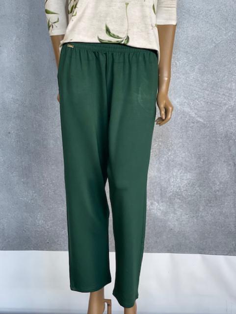 Calça Feminina Moletinho de Viscolycra Verde Velvet