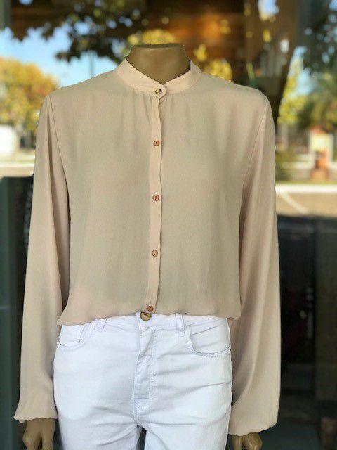 Camisa Social Feminina de Seda