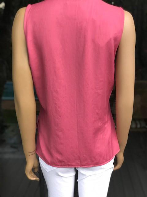 Camisa Feminina Rosê sem Manga