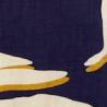 Estampa Azul, Off White e Amarelo