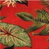Est 665 Folhas com Vermelho