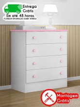 COMODA QMOVI DOCE SONHO 103.3 BR/RS