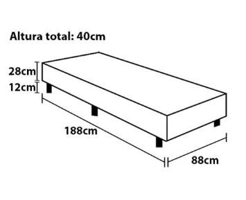 BOX POLAR BASICA 88X26