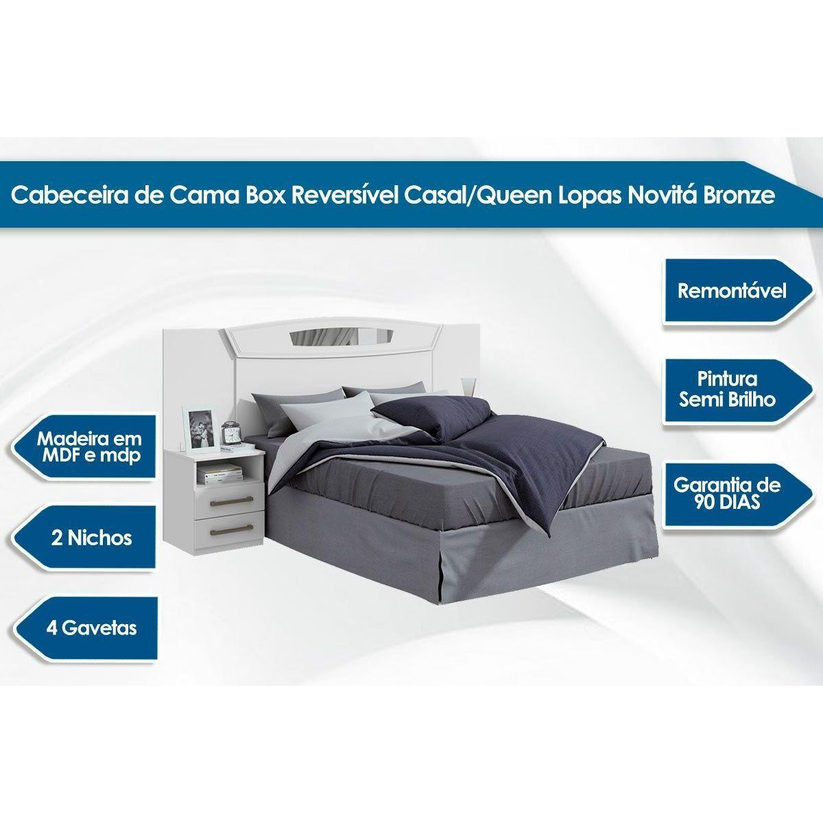 CABECEIRA LOPAS NOVITA 138/158 CAV/NT
