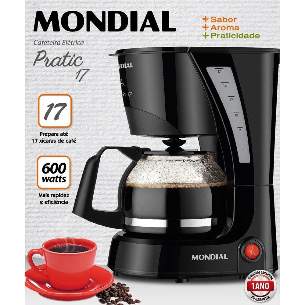 CAFETEIRA MONDIAL PRATIC NC25 17XIC
