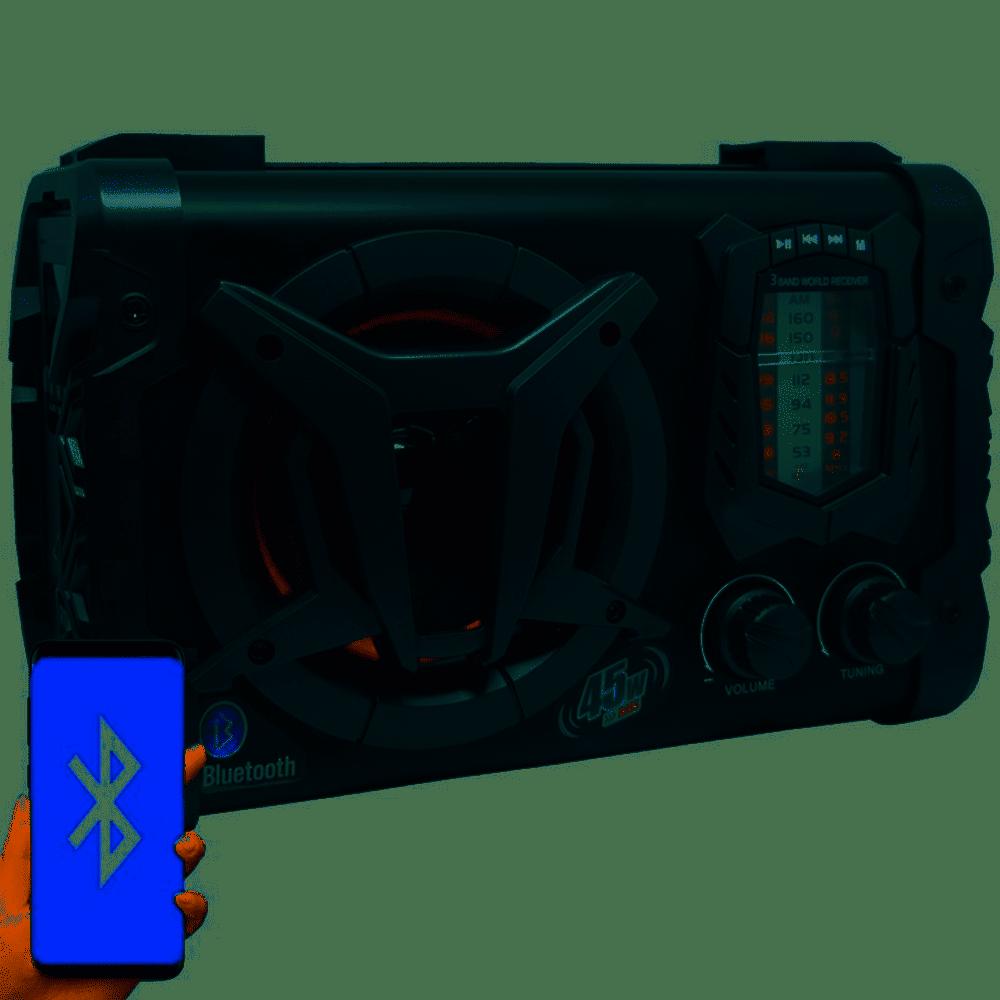 CAIXA AMPLIFICADA AMVOX ACA90 CLOCK