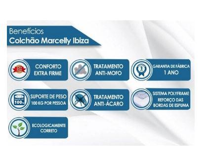 COLCHÃO PAROPAS MOLA ENSAC MARCELLY 138