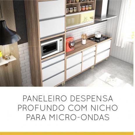 COZINHA NESHER BARONESA BRANCA 5 PEÇAS