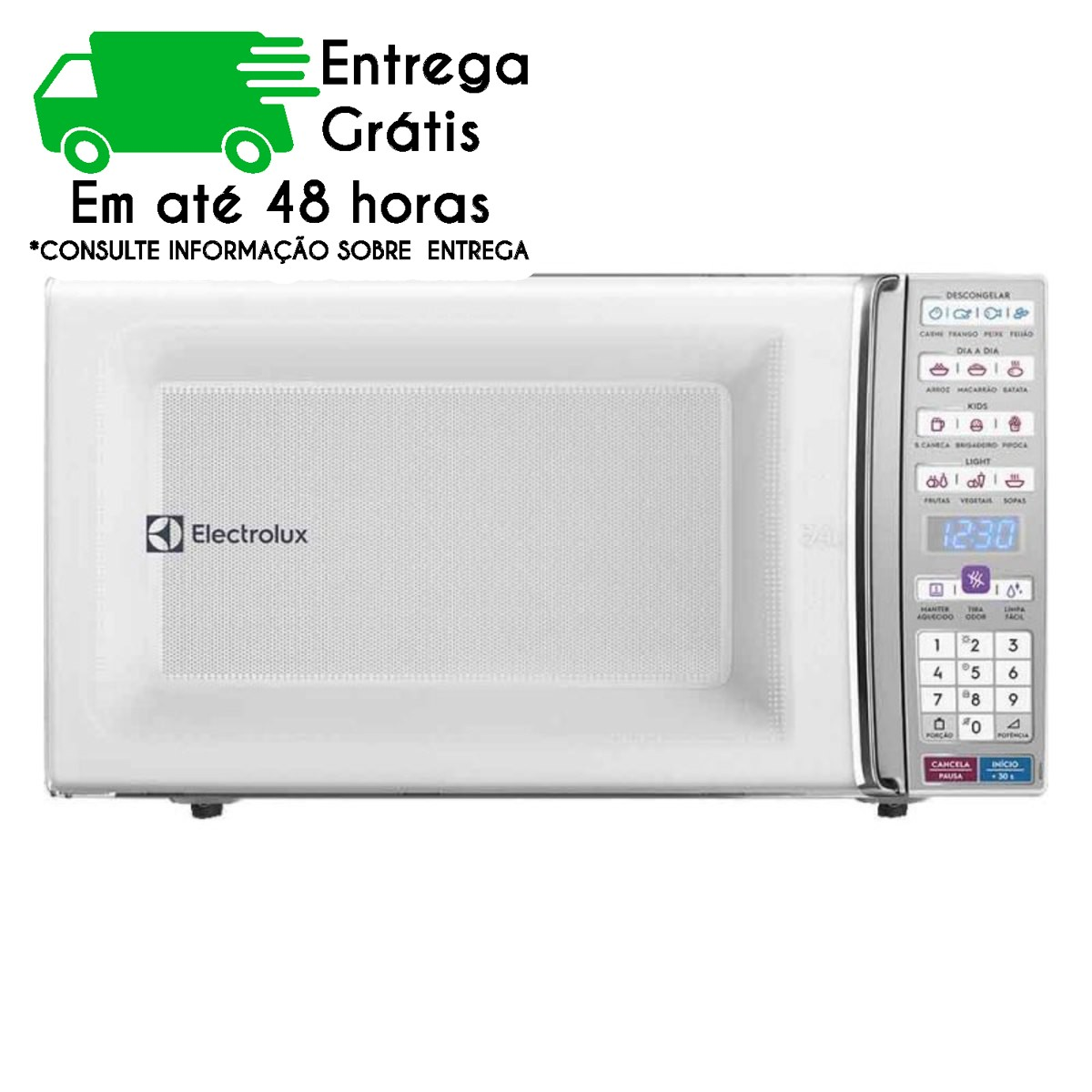 FORNO MICROONDAS ELECTROLUX ME044 34LT