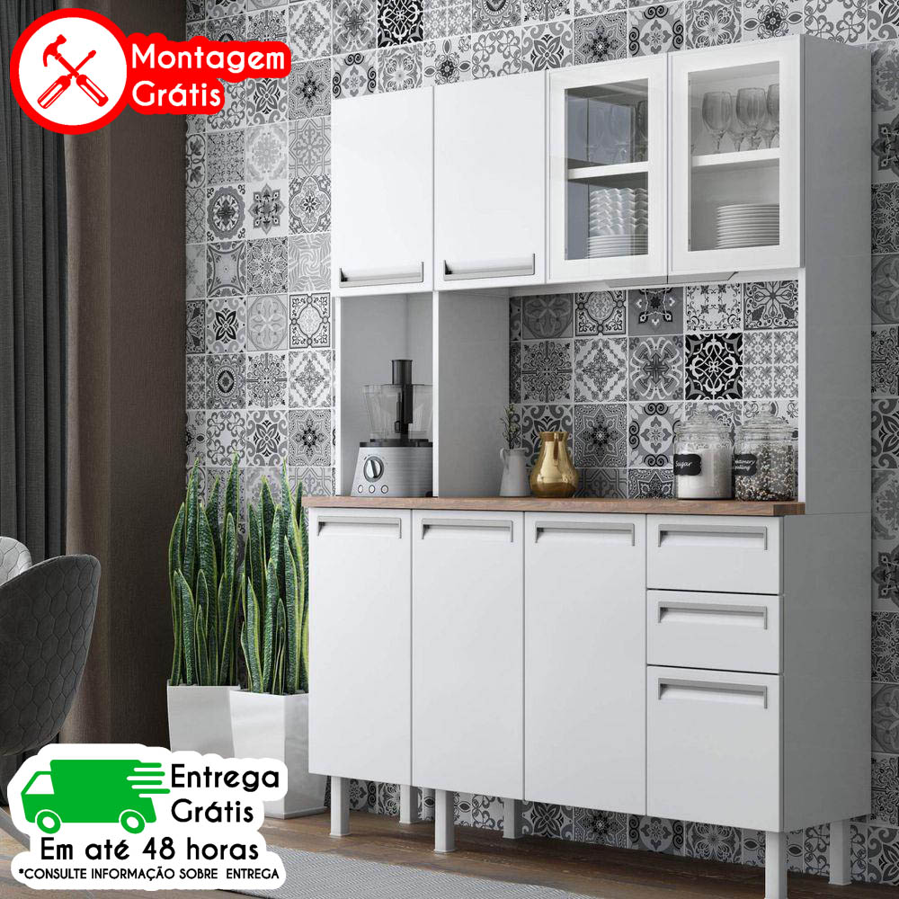 KIT COLORMAQ ROMA 7 PORTAS 140 BRANCO