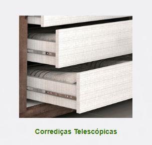 ROUPEIRO ACP CAROLINA 6 PORTAS C/ESPELHO