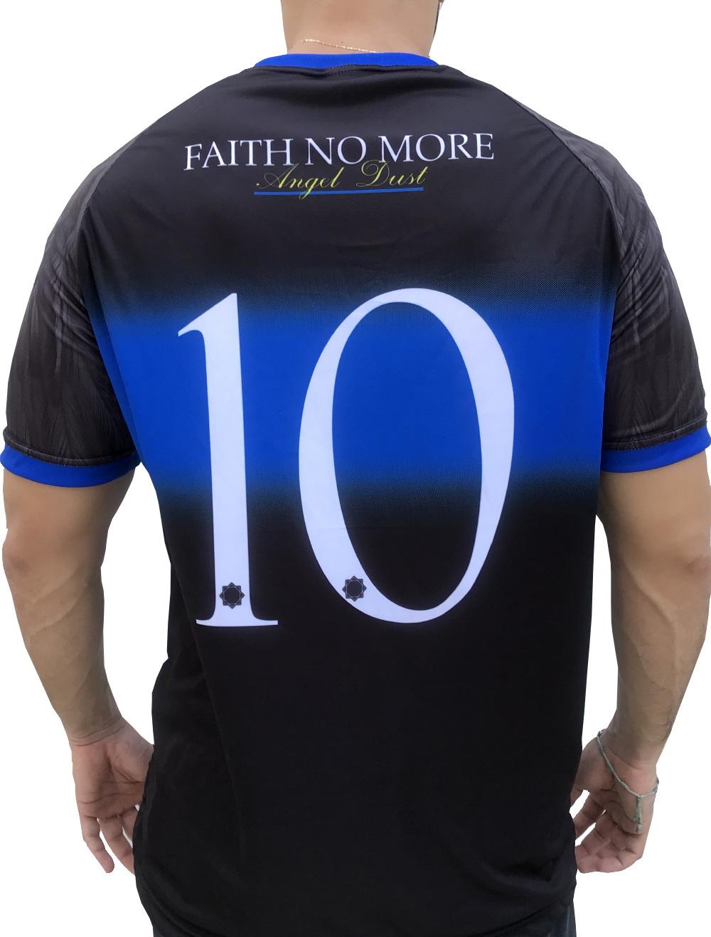 CAMISA DE FUTEBOL FAITH NO MORE