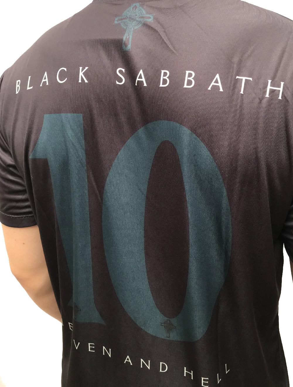 CAMISA DE FUTEBOL BLACK SABBATH - HEAVEN AND HELL