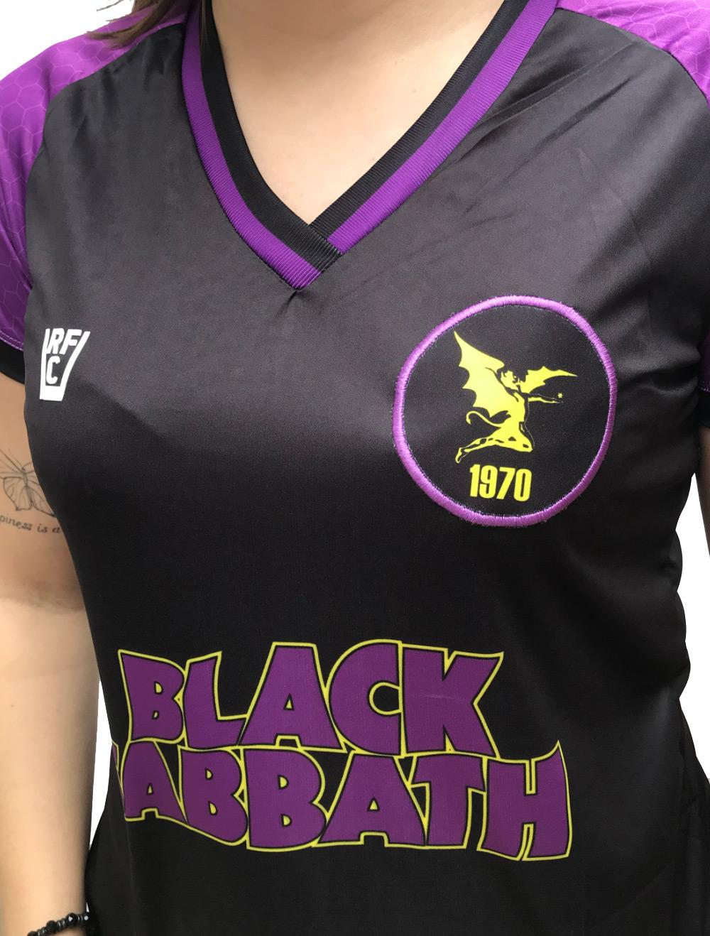 CAMISA DE FUTEBOL BLACK SABBATH I