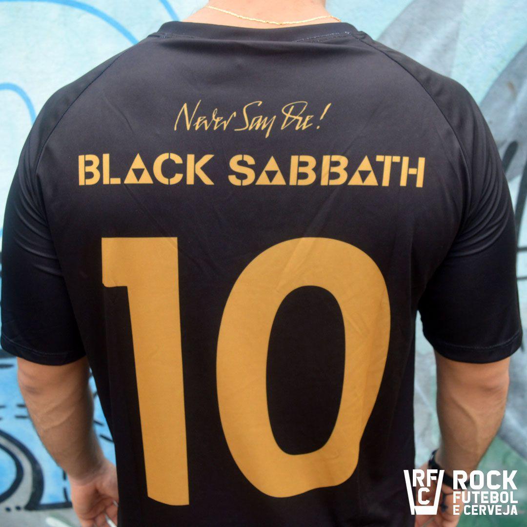 CAMISETA BLACK SABBATH NEVER SAY DIE