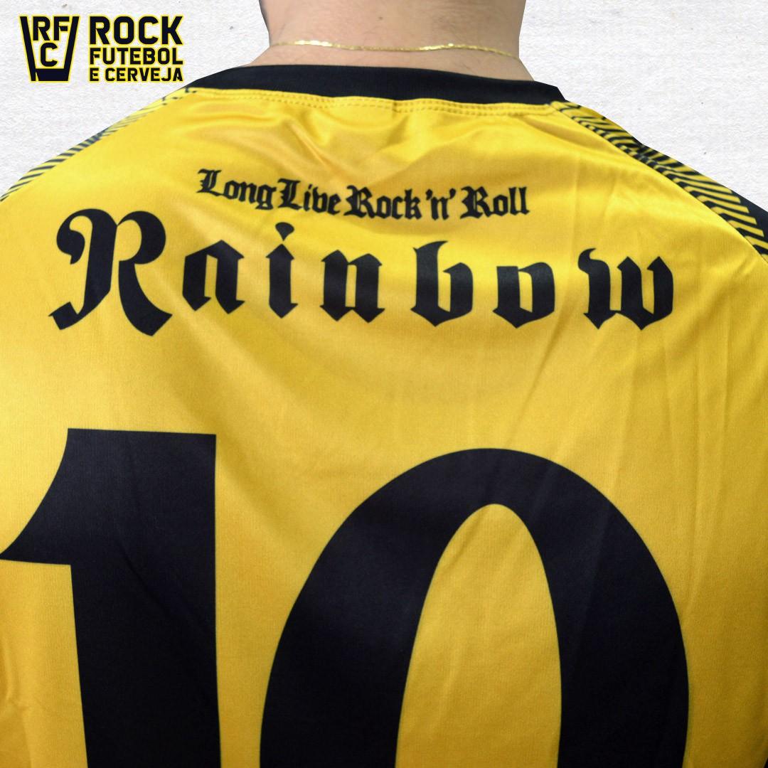 CAMISETA RAINBOW - LONG LIVE ROCK 'N' ROLL