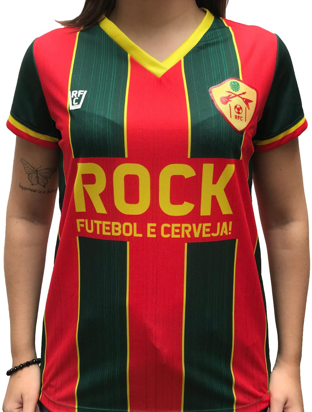 CAMISA DE FUTEBOL ROCK, FUTEBOL E CERVEJA - SAMPAIO CORRÊA
