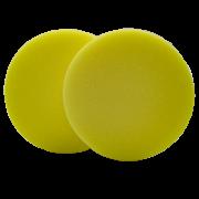 """Aplicador de Cera Amarelo 4,5"""" - 2un"""