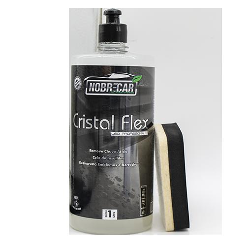 CRISTAL FLEX - Removedor de manchas ácidas dos vidros