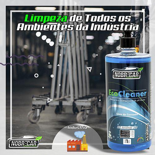 Eco Cleaner - Detergente e Desengraxante de pH Neutro - Limpador universal biodegradável de Alta Performance