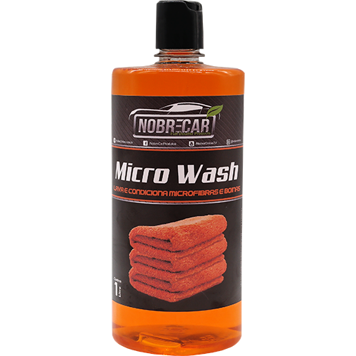 MICRO WASH 1L-  Lavagem  e Condicionamento de Panos de Microfibra