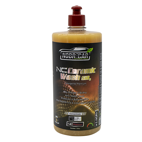 NC CERAMIC WASH 1L-  Detergente Automotivo Prêmium