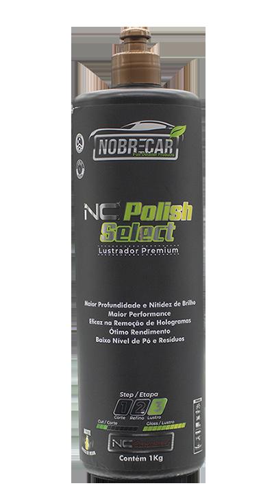 NC POLISH SELECT 1KG - Composto Polidor Premium - Etapa 3 Lustro