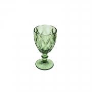 Conjunto com 6 Taças para Água Diamond Verde 325ml