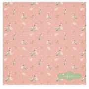 Guardanapo Rosa Floral ' Cafune' Coleção Camila 44x44 cm