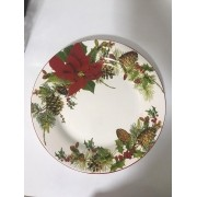 Prato Raso Flor Bico de Papagaio Natal