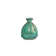 Vaso Pequeno de Vidro Verde 10x11 cm
